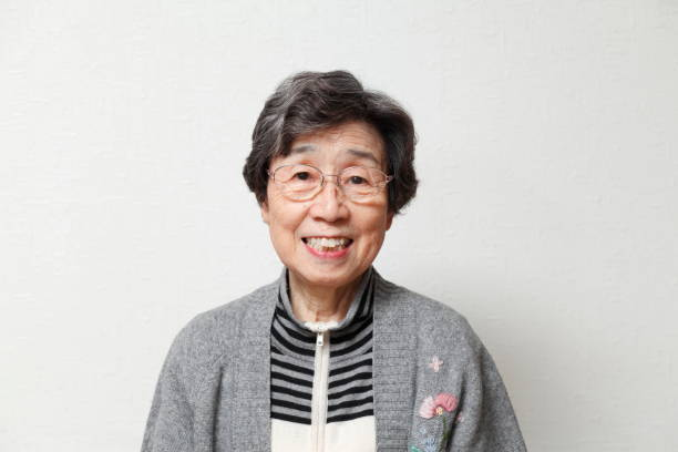 older japanese lady