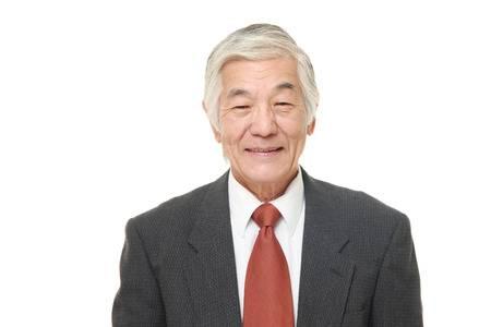 senior japanese male